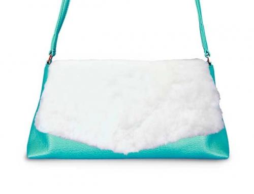 着せ替えショルダーバッグ「CHIPS」Marshmallow × Appletini