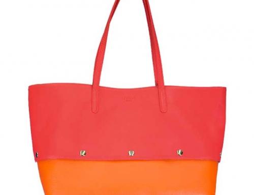 着せ替えトートバッグ「PIECE」Cherry × Pumpkin