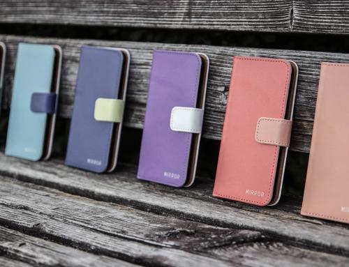 「色」でセミオーダーする手帳型iPhoneケース「MIRROR my colors」登場。