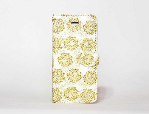 「Golden Flowers」 | 手帳型iPhoneケース | MIRROR / Diary
