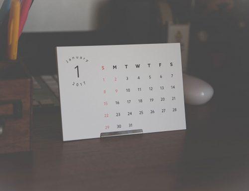 プリンターで作る。2017年卓上カレンダー無料ダウンロード