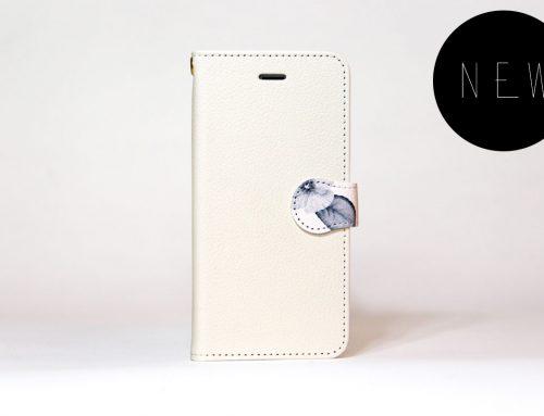「ボタニカル(ホワイトベージュ)」| 手帳型iPhoneケース | Plan bシリーズ