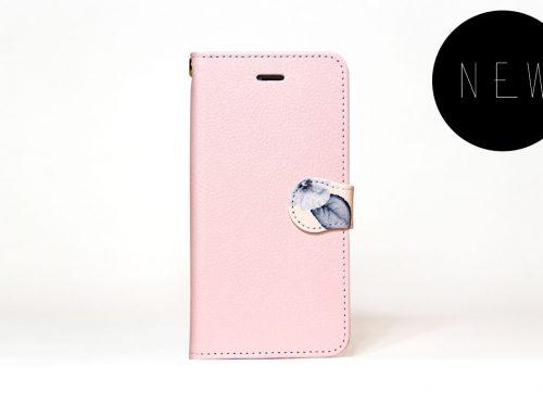 「ボタニカル(パステルピンク)」| 手帳型iPhoneケース | Plan bシリーズ