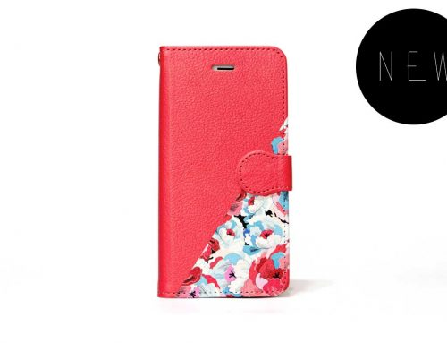 「RED」| 手帳型iPhoneケース | Plan bシリーズ
