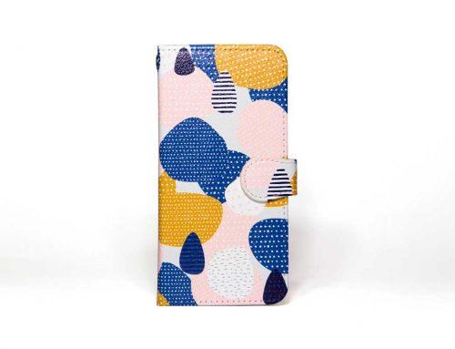 「dot in dot」| 手帳型iPhoneケース | Plan bシリーズ