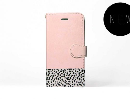 「Pink x Animal」| 手帳型iPhoneケース | Plan bシリーズ